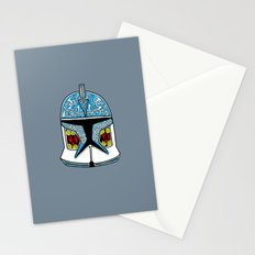 celtic clone trooper Stationery Cards