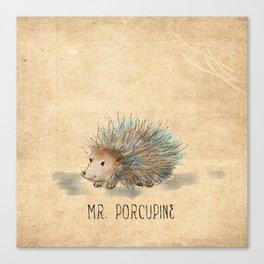 Mr. Porcupine Canvas Print