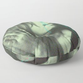 Untitled Woman Floor Pillow