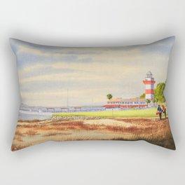 Harbor Town Golf Course SC Rectangular Pillow
