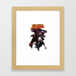 My Hero Academia Battle Framed Art Print