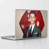 inception Laptop & iPad Skins featuring Inception - Arthur by Mel Hampson