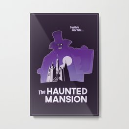 Hatbox Ghost - World Metal Print