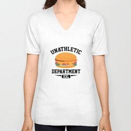 Unathletic Department Unisex V-Neck