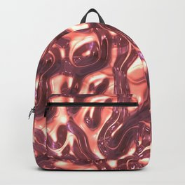 Liquid Cream Surface Backpack