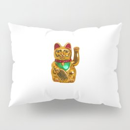 Lucky Cat Pillow Sham