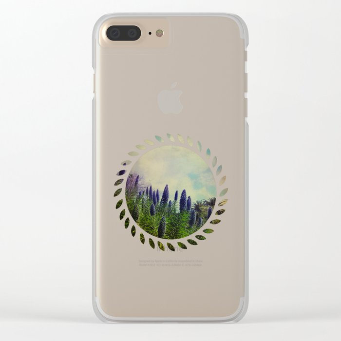 Spring Love Clear iPhone Case
