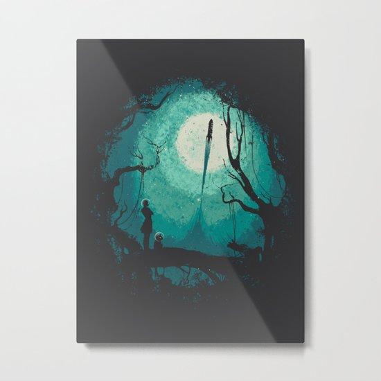 After Cosmic War Metal Print