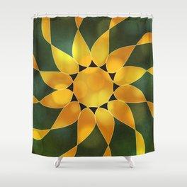 Autumn Sun Two Shower Curtain