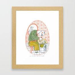 Un couteau dans la poche\Un coltello nella tasca 1\34_Viola Gesmundo_Piccoli piaceri della vita Framed Art Print