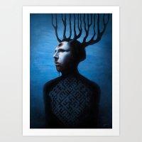 Mephistopheles Rising Art Print