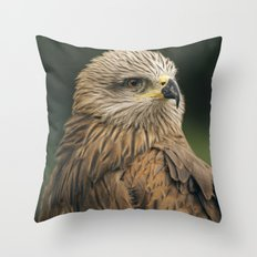 Power Bird II Throw Pillow