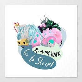 Deku Dango go to Sleep! Canvas Print