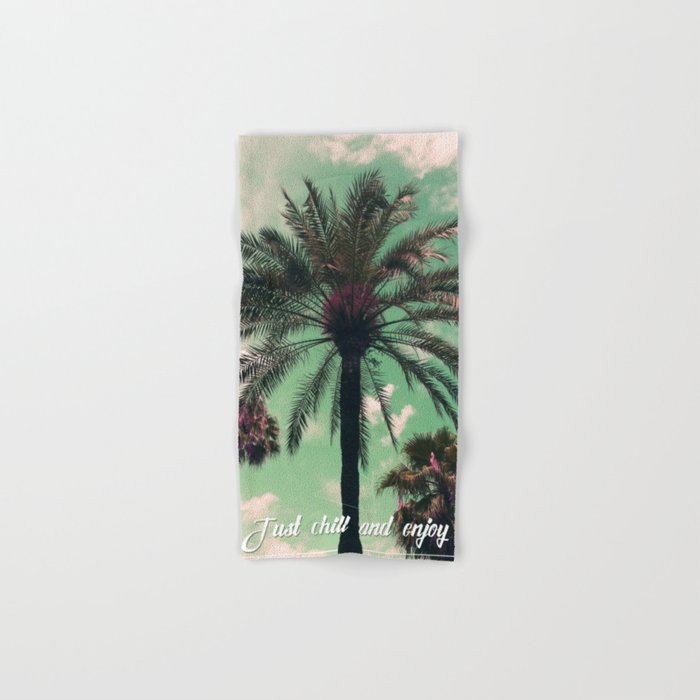 Just chill and relax Hand & Bath Towel