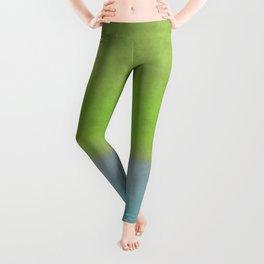 Green greenery greenish Leggings