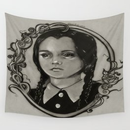 Wednesday Addams Wall Tapestry