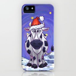 Cow Christmas iPhone Case