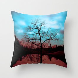 Good & Evil Throw Pillow