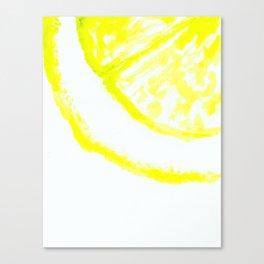 easy peasy lemon squeezy Canvas Print