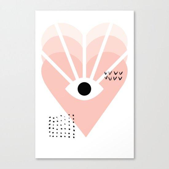 Love vision Canvas Print
