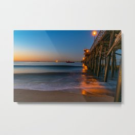 Seal Beach Dawn Metal Print