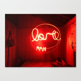 ''Love expossure'' - Amor exposição Canvas Print