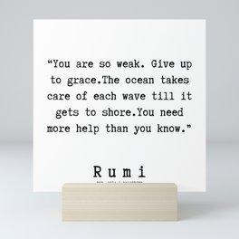 96 | Rumi Quotes | 190221 Mini Art Print
