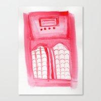 radio Canvas Prints featuring Radio by radiantlee