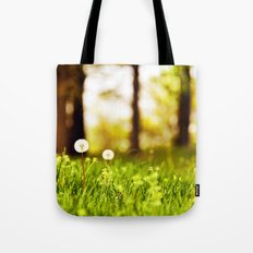 Dreamy Dandelions Tote Bag