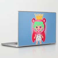 one piece Laptop & iPad Skins featuring Sugar from one piece by Dama Chan