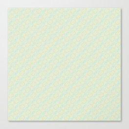 Blue Yellow and Green Pattern 1 Canvas Print