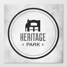 Heritage Park Canvas Print
