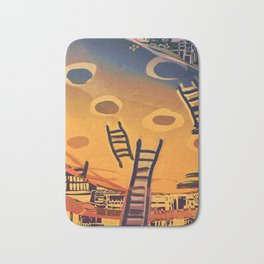 Time through Time, from Caves to Skyscraper, from Organic to Geometric Bath Mat