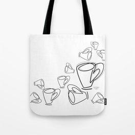 Cuppa Candor [Ivory] Tote Bag