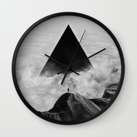 Wall Clocks featuring We never had it anyway by Adam Priester