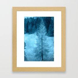 crystal larch Framed Art Print