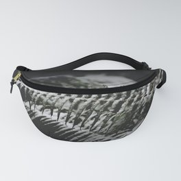 Minimal Winter Ferns - Forest Nature Photography Fanny Pack