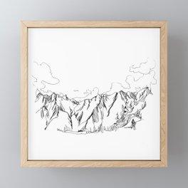 Up The Duffey Framed Mini Art Print