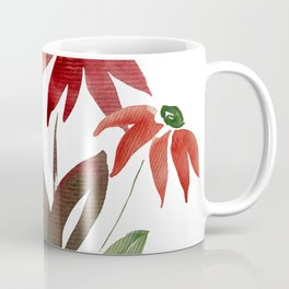 Autumn Watercolor Flowers Coffee Mug
