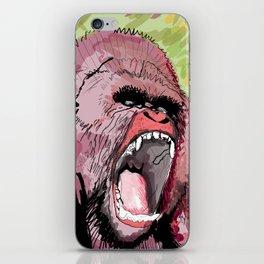 The gorilla  iPhone Skin