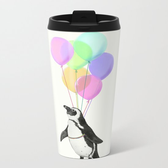 I believe I can fly Metal Travel Mug