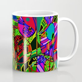 electric camo. Coffee Mug