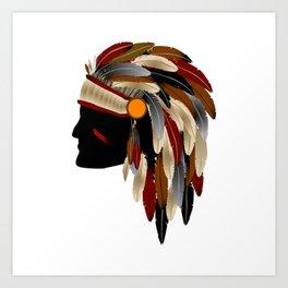 American Indian Art Print