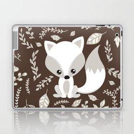 FOX AND LEAVES Laptop & iPad Skin