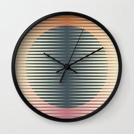 Papercuts 8 Wall Clock