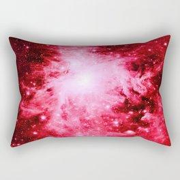 Red Orion Nebula Rectangular Pillow