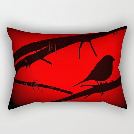 Free as a bird Rectangular Pillow