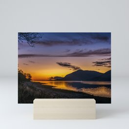 The Blue Hour over Loch Linnhe - Scottish Highlands Mini Art Print
