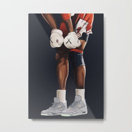 KAWS boxing gloves and shoes Metal Print