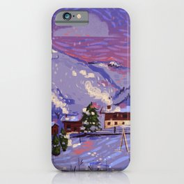 WinterHome iPhone Case